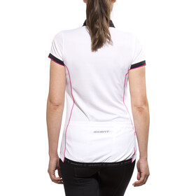 axant Elite Jersey korte mouwen Dames Dames, white/pink